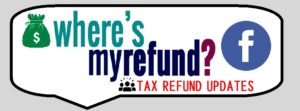 Where's my Refund? - Facebook Page