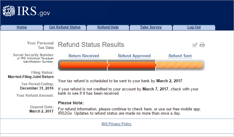 How Quick has the IRS Processed your Return this Year? ⋆ RefundTalk.com