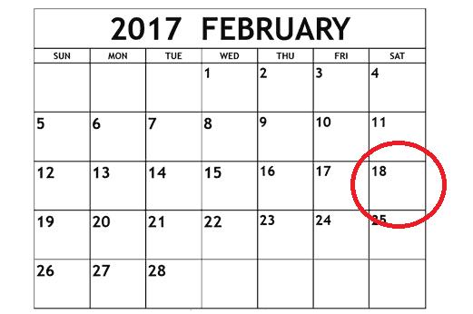 Did you e-file a tax return before February 18, 2017