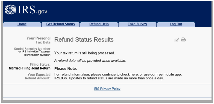 irs gov wheres my refund check