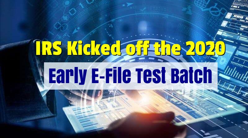 IRS Hub Testing 2020